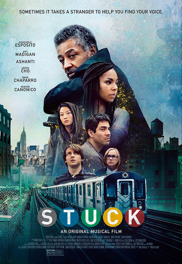 Official Stuck movie poster image